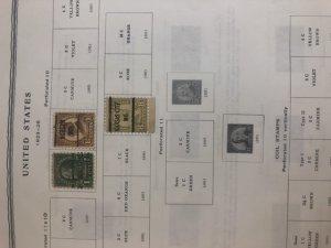 Scott Minuteman Stamp Album United States 1847-1989