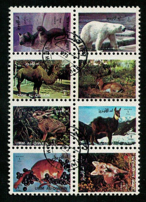 Animals, Umm Al Quwain, block, (3139-T)