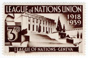 (I.B) Cinderella Collection : League of Nations Union 3d