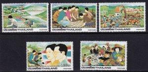Thailand 1984, Development Program MNH set # 1052-1056