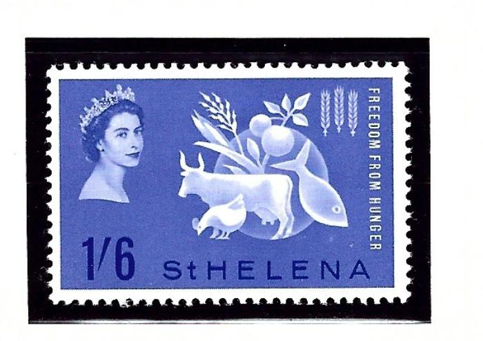 St Helena 173 MNH 1963 Freedom from Hunger