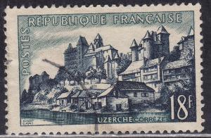 France 778 Uzerche 18F 1955