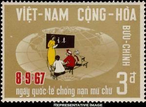 Vietnam Scott 321 Mint never hinged.