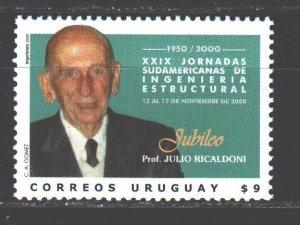 Uruguay. 2000. 2572. Uruguayan engineer. MNH.