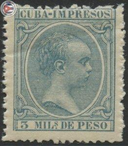 Cuba 1896 Scott P28 | MNH | CU18120