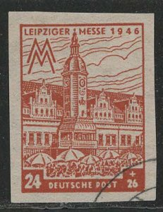 DDR under russian occupation Scott # 14NB15a, used