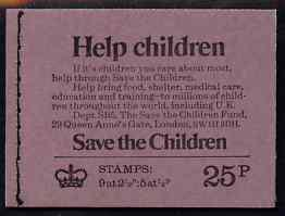 Booklet - Great Britain 1973 Save Help The Children 25p b...