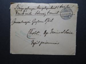 Germany 1915 Neumarkt POW Cover / Censored / Fold - Z11539