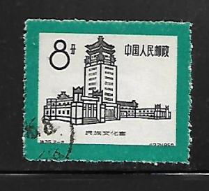PEOPLE'S REPUBLIC OF CHINA, 466, USED, PALACE OF NATIONALITIES