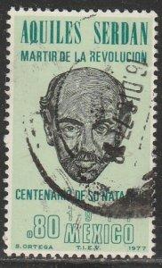 MEXICO 1158, Aquiles Serdan Martyr of the Revolution USED. VF. (659)