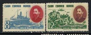 CUBA C127-28 MNH TONING 590B-1