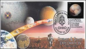 18-312, 2018, Science and Space Exploration, Pictorial, Postmark, Columbus OH, E