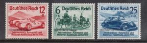 Germany #B141 - #B143 VF/NH Set