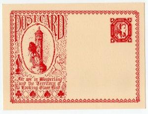 (I.B) Cinderella : Gerald King Wonderland Postcard (Three Winks)