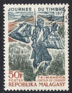 MALAGASY REPUBLIC SCOTT 487