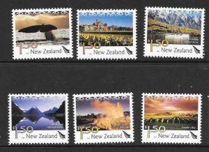NEW ZEALAND SG2732/7 2004 TOURISAM MNH