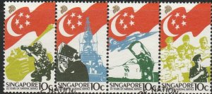 Singapore,  #506 Used  From 1987