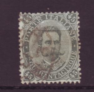J20071 jlstamps 1889 italy used #54 king