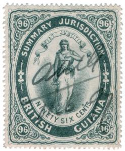(I.B) British Guiana Revenue : Summary Jurisdiction 96c (1883)