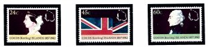 Cocos Is 82-84 MNH 1982 Anniv of the Annexation to the British Domonions     ...