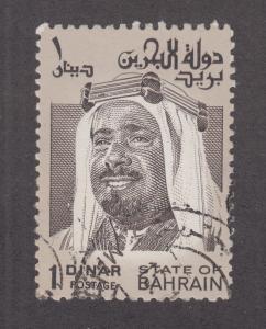 Bahrain Sc 238 used 1976 1d Sheik Isa F-VF