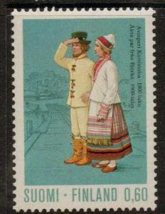 FINLAND SG830 1972 60p KOIVISTO COUPLE  MNH