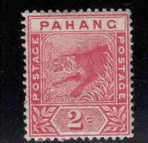 MALAYA-Pahang Scott 12 MH* tiger stamp