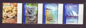 J23780 JLstamps 2005 australia hv,s of set mnh #2354-7 designs