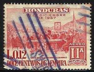 Honduras Air Mail 1959 Scott# C306 Used