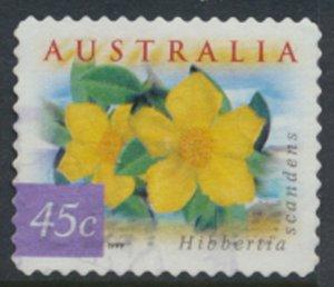 Australia SG 1864  Used  SC# 1746c Guinea Flower 1999  see scan