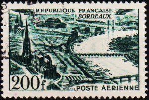 France. 1949 200f S.G.1056 Fine Used