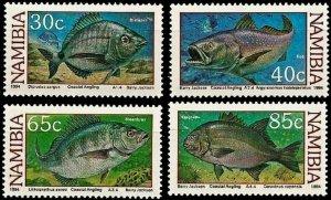 1994 Namibia 764-767 Sea fauna 2,50 €