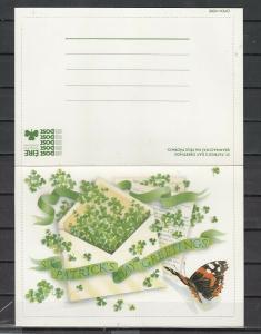 Ireland, 1986 issue. St. Patrick`s Greeting Postal Card. ^