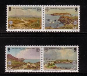Isle of Man Sc 306-7 1986 Europa stamp set mint NH