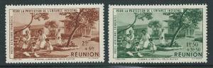 French Reunion CB2-3 1942 Child Welfare set MNH