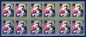 PCBstamps  US #4424a Bk Pane $8.80(20x44c)Traditional Christmas, MNH, (2)