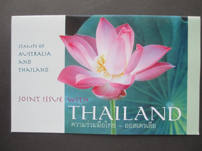 AU 2002 JOINT ISSUE AUSTRALIA AND THAILAND IN POST OFFICE PACK MNH