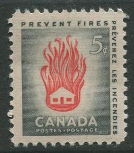 STAMP STATION PERTH Canada #364 House on Fire 1956 MNH CV$0.35