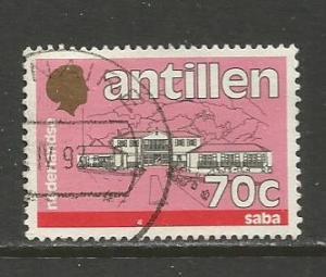 Netherlands Antilles   #543A  Used  (1988)  c.v. $0.40