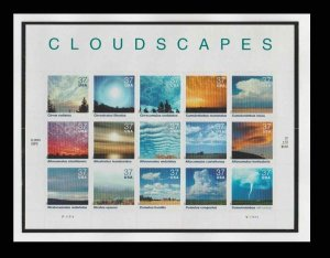 Cloudscapes Cloud Scapes #3878 37¢ Sheet of 15 Stamps  MNH
