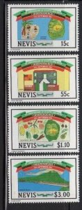 Nevis 379-82 Mint NH Independence Day