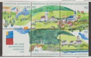 Liechtenstein Scott #1138 Stamps - Mint NH Souvenir Sheet