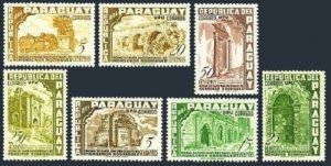 Paraguay 491-497,C225-C232,MNH/MLH. Priesthood of Monsignor Rodrigues,1955.