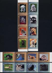 Slovenia 993a-1005a MNH Animals, Dogs, Birds, Cats, Goat, Hamster