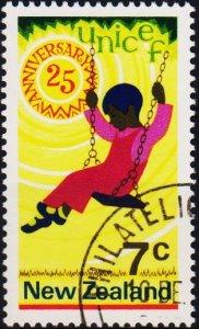 New Zealand. 1971 7c S.G.956 Fine Used