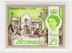 British Colony Bermuda 1962 2.3s MH* Stamp Historical Buildings A22P18F8929