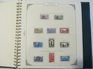 Cartella Gobel Halmilton con Custodia e Fogli Regno 1861-1945 Pari al Nuovo