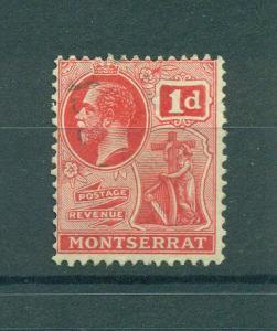 Montserrat sc# 57 used cat val $1.75