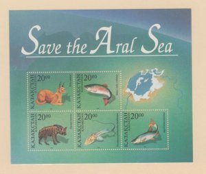 Kazakhstan Scott #145  Stamp - Mint NH Souvenir Sheet