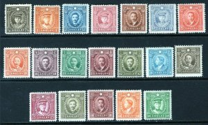 China 1940-41 Martyrs Set of 19 Without Watermark MNH #421-39